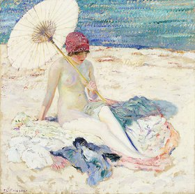 Frederick Karl Frieseke: Am Strand