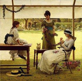 George Dunlop Leslie: Die Girlande