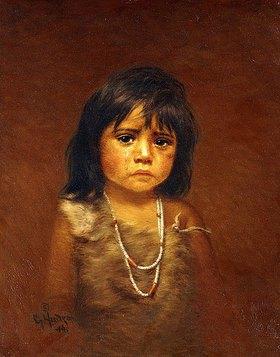 Grace Carpenter Hudson: Weinendes Indianerkind