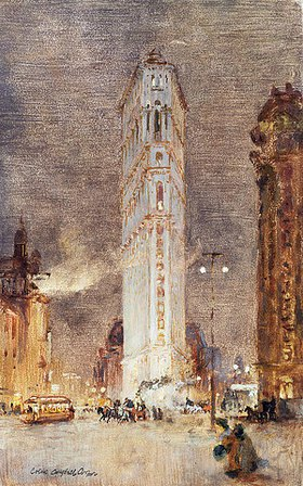 Colin Campbell Cooper: Das Flat Iron Building, New York