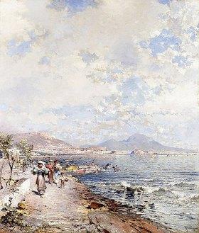 Franz Richard Unterberger: Posillipo, Neapel