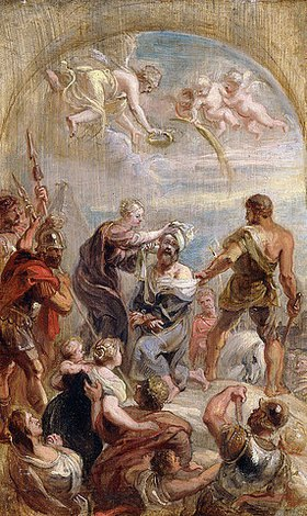 Peter Paul Rubens: Das Martyrium des hl. Paulus (ein Modelletto)