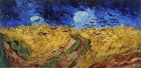 Vincent van Gogh: Weizenfeld mit Raben