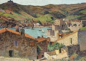 Henri Martin: Collioure mit Blick auf den Hafen