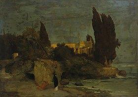 Arnold Böcklin: Villa am Meer (1. Fassung)