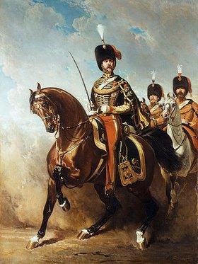 Alfred Dedreux: Porträt von General Fleury zu Pferde