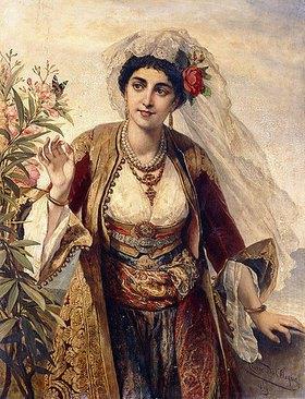 Cesare Felix Georges Dell'Acqua: Eine exotische Schönheit