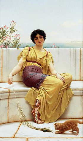 John William Godward: Müßiggang