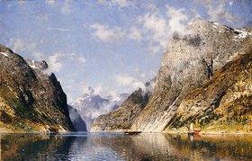 Adelsteen Normann: Ein Fjord in Norwegen