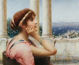Henry Ryland: Eine klassische Schönheit