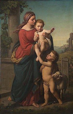 Theodor Mintrop: Maria mit Kind und Johannes