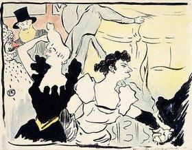 Henri de Toulouse-Lautrec: Auf dem Maskenball-Pariser Fest (Au Bal masqué-les Fêtes Parisiennes-Nouveaux Confettis)