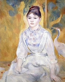 Auguste Renoir: Junges Mädchen mit einem Schwan (La Jeune Fille au Cygne)
