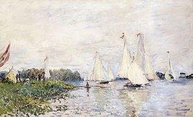 Claude Monet: Regatta in Argenteuil