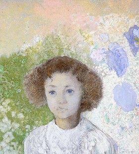 Odilon Redon: Porträt von Geneviève de Gonet als Kind