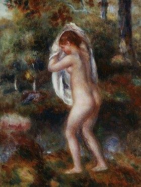 Auguste Renoir: Badende sich ausziehend (Baigneuse se Déshabillant)