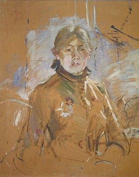 Berthe Morisot: Selbstbildnis 1885. (Ausschnitt)