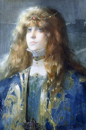 Lucien Victor Guirand de Scévola: Porträt von Sarah Bernhardt