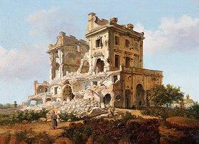 Französisch: Villa del Vascello auf dem Gianicolo, Rom