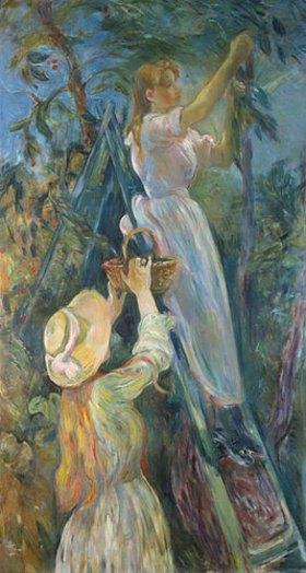 Berthe Morisot: Kirschenernte