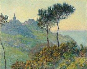Claude Monet: Die Kirche von Varengeville bei Abendsonne (L'eglise de Varengeville, soleil couchant)
