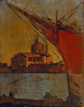 Walter Richard Sickert: Il Redentore, von Zattere aus, Venedig