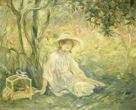 Berthe Morisot: Junges Mädchen unter Orangenbäumen