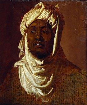 Peter Paul Rubens: Ein Afrikaner mit einem weißen Turban - Skizze