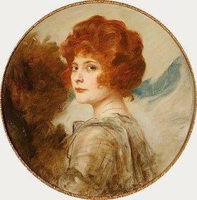 Friedrich August von Kaulbach: Porträt einer jungen Dame