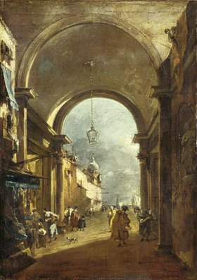 Francesco Guardi: Tordurchblick