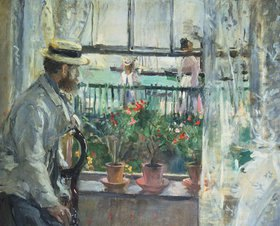 Berthe Morisot: Eugene Manet auf der Insel Wight