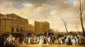 Louis-Léopold Boilly: Karneval auf dem Boulevard du Crime