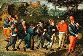 Abel Grimmer: Die Prozession des Bräutigams