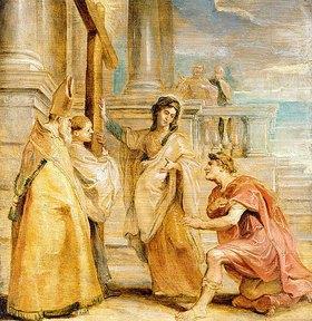 Peter Paul Rubens: Konstantin der Große verehrt das Wahre Kreuz