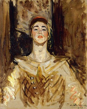 Jacques-Emile Blanche: Nijinsky in 'Les Orientales'