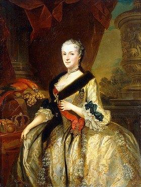 Louis Silvestre d.J.: Porträt von Maria Josepha, Königin von Polen