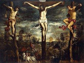 Tintoretto (Jacopo Robusti): Die Kreuzigung
