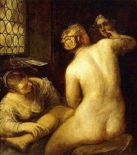 Tintoretto (Jacopo Robusti): Die Toilette der Venus