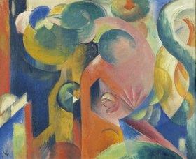 Franz Marc: Kleine Komposition III