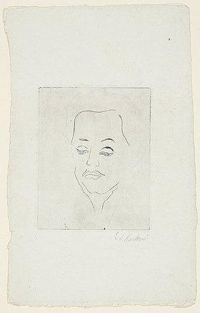 Ernst Ludwig Kirchner: Kopf Erich Heckel