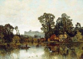 Karl Heffner: Die Themse mit Blick auf Schloss Windsor