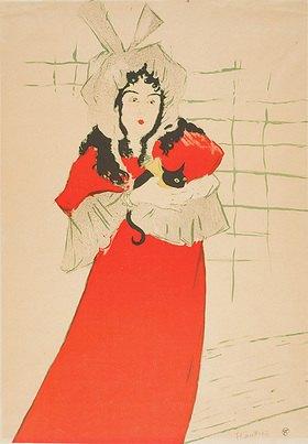 Henri de Toulouse-Lautrec: May Belfort