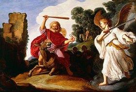 Pieter Lastman: Bileam und die Eselin