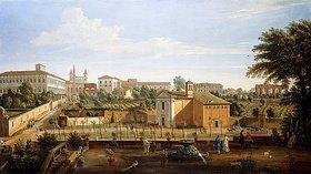 Gaspar Adriaens van Wittel: Die Kirche Santi Marcellino e Pietro