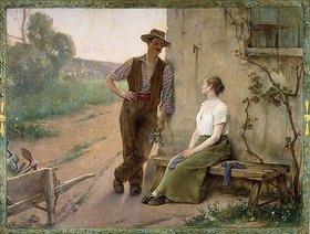 Adrien Henri Tanoux: Bauernpaar