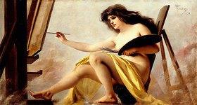 Riccardo Falero: Allegorie der Malerei