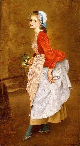 Gustave Jean Jacquet: Die Kammerzofe