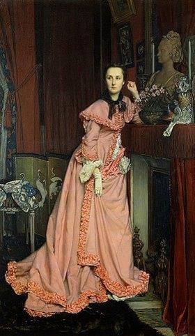 James Jacques Tissot: Porträt der Marquise von Miramon, geborene Thérèse Feuillant (1840-1912)