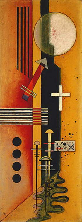 wassily kandinsky bilder in rot. Black Bedroom Furniture Sets. Home Design Ideas