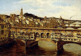 Antonietta Brandeis: Die Ponte Vecchio, Florenz